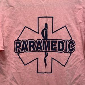 NWOT Paramedic Pink Breast Cancer Awareness Shirt
